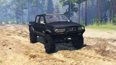 Nissan Navara ST-R Dual Cab (D22) for Spin Tires