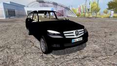 Mercedes-Benz C320 CDI Estate (S204) FBI for Farming Simulator 2013
