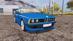 BMW M6 (E24) for Farming Simulator 2013