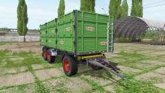 Rimorchi Randazzo R270 PT v1.0.1.3 for Farming Simulator 2017