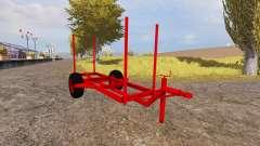 Timber trailer for Farming Simulator 2013