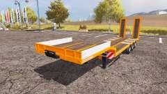 Schwarzmueller low loader semitrailer for Farming Simulator 2013