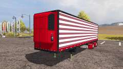 Reefer trailer for Farming Simulator 2013