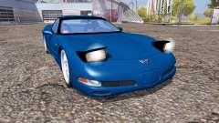 Chevrolet Corvette Z06 (C5) for Farming Simulator 2013