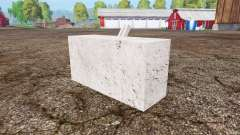 Concrete weight