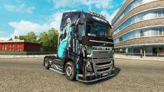 Blue Girl skin for Volvo truck
