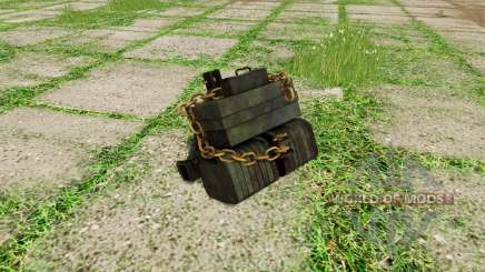 Homemade weight for Farming Simulator 2017