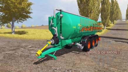 Aguas-Tenias CAT-22-TC v1.5 for Farming Simulator 2013