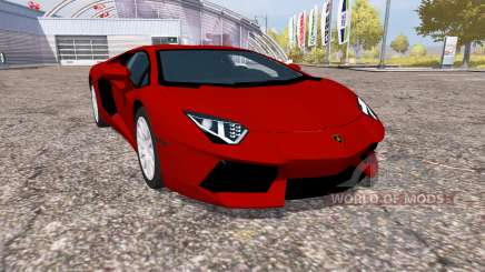 Lamborghini Aventador LP 700-4 (LB834) for Farming Simulator 2013