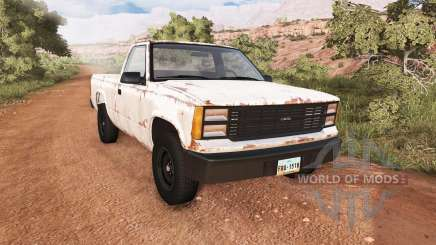 Gavril D-Series rusty for BeamNG Drive