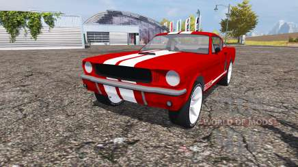 Shelby GT350 1966 for Farming Simulator 2013