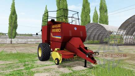 New Holland BigBaler 980 v2.1 for Farming Simulator 2017