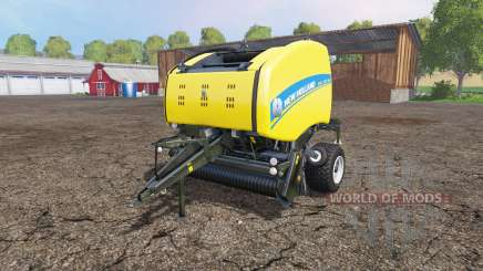 New Holland Roll-Belt 150 wet grass for Farming Simulator 2015