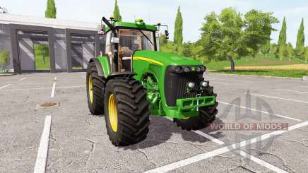 John Deere 8420 v3.0 for Farming Simulator 2017