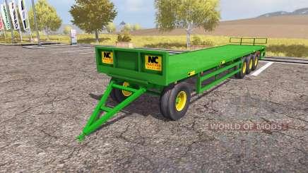 NC bale trailer for Farming Simulator 2013
