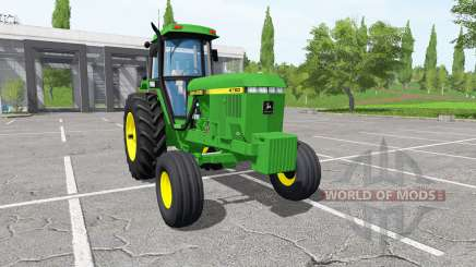 John Deere 4760 for Farming Simulator 2017