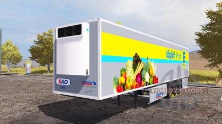 Schmitz Cargobull S.KO Cool EDEKA for Farming Simulator 2013