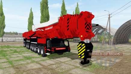 Liebherr LTM 11200-9.1 Mammoet speed lift for Farming Simulator 2017