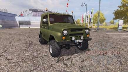 UAZ 469 half-track for Farming Simulator 2013
