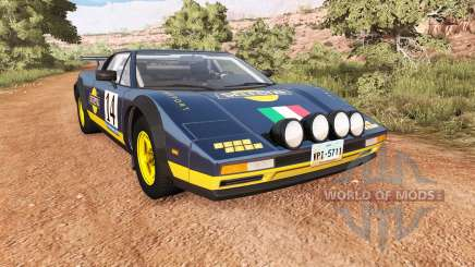 Civetta Bolide Italia Autosport rally for BeamNG Drive