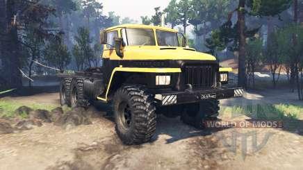 Ural 375 Major v2.6 for Spin Tires