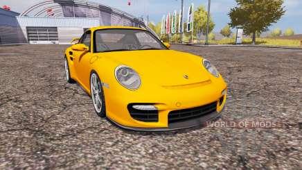 Porsche 911 GT2 (997) for Farming Simulator 2013
