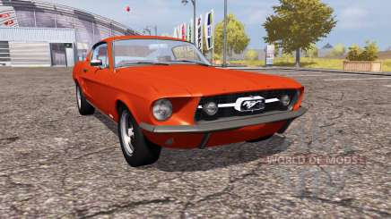 Shelby GT500 1967 for Farming Simulator 2013