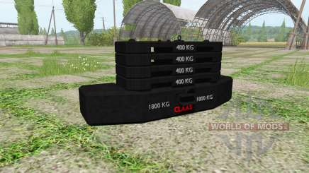 Weight CLAAS for Farming Simulator 2017