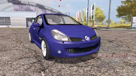 Renault Clio R.S. for Farming Simulator 2013