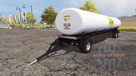 Fertilizer trailer v1.1 for Farming Simulator 2013