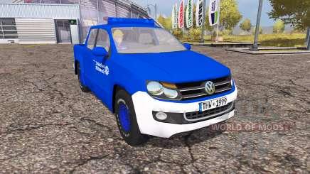 Volkswagen Amarok Double Cab THW for Farming Simulator 2013