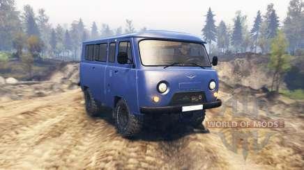 UAZ 2206 v2.1 for Spin Tires