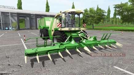 Krone BiG X 1100 cargo for Farming Simulator 2017