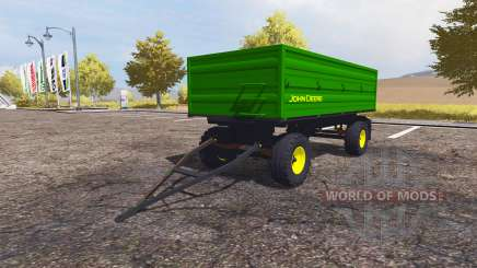 John Deere trailer for Farming Simulator 2013