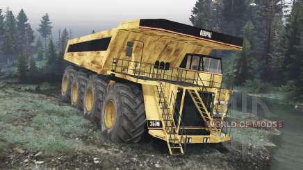 Dump truck 8x8 v1.1.2 for Spin Tires