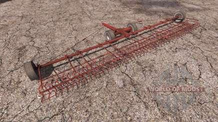 The trailed stubble harrow for Farming Simulator 2013