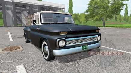 Chevrolet C10 Fleetside 1966 v1.1 for Farming Simulator 2017