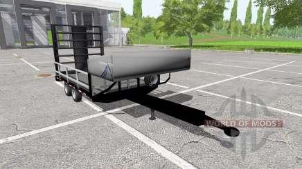 Small utility trailer for Farming Simulator 2017