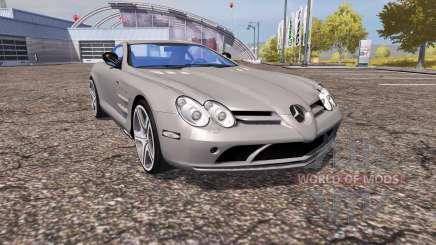 Mercedes-Benz SLR McLaren (C199) for Farming Simulator 2013