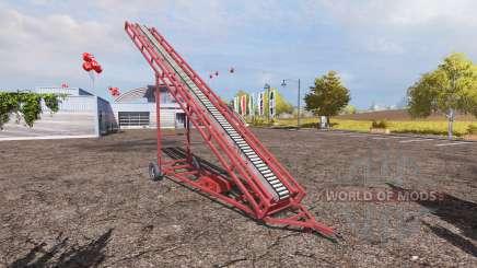 Conveyor belt v2.0 for Farming Simulator 2013