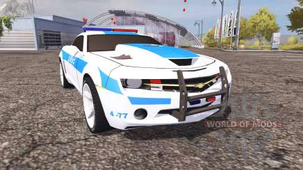 Chevrolet Camaro Police v2.0 for Farming Simulator 2013