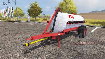 Tank manure v2.0 for Farming Simulator 2013