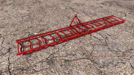 Mounted stubble harrow for Farming Simulator 2013