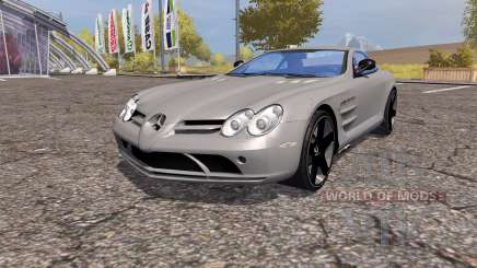 Mercedes-Benz SLR McLaren (C199) v2.0 for Farming Simulator 2013