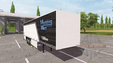 Schmitz Cargobull Modding Welt v1.1.0.1 for Farming Simulator 2017