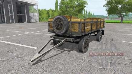 Tractor trailer v1.1 for Farming Simulator 2017