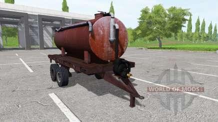 Trailer tank for Farming Simulator 2017