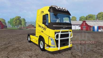 Volvo FH16 v1.2 for Farming Simulator 2015