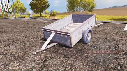 Small trailer for Farming Simulator 2013