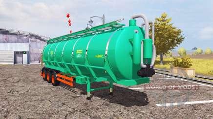 Aguas-Tenias tank manure for Farming Simulator 2013